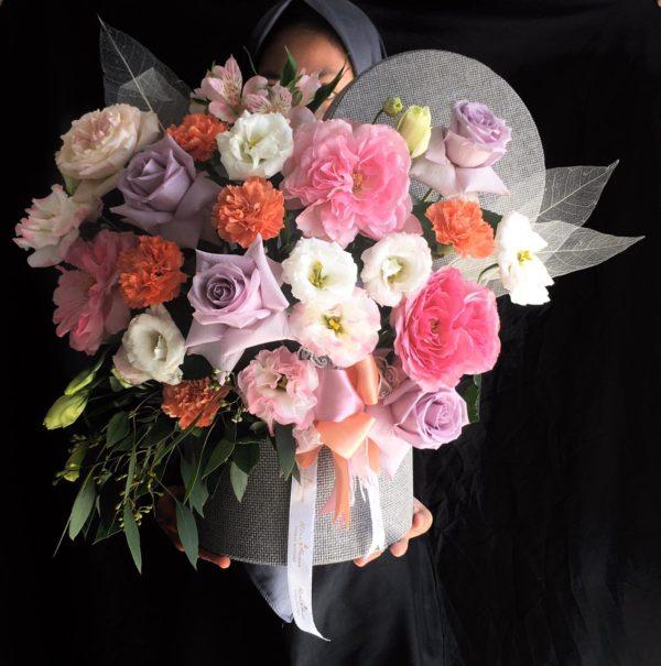 Bloom Box rangkaian dari toko bunga banjarmasin